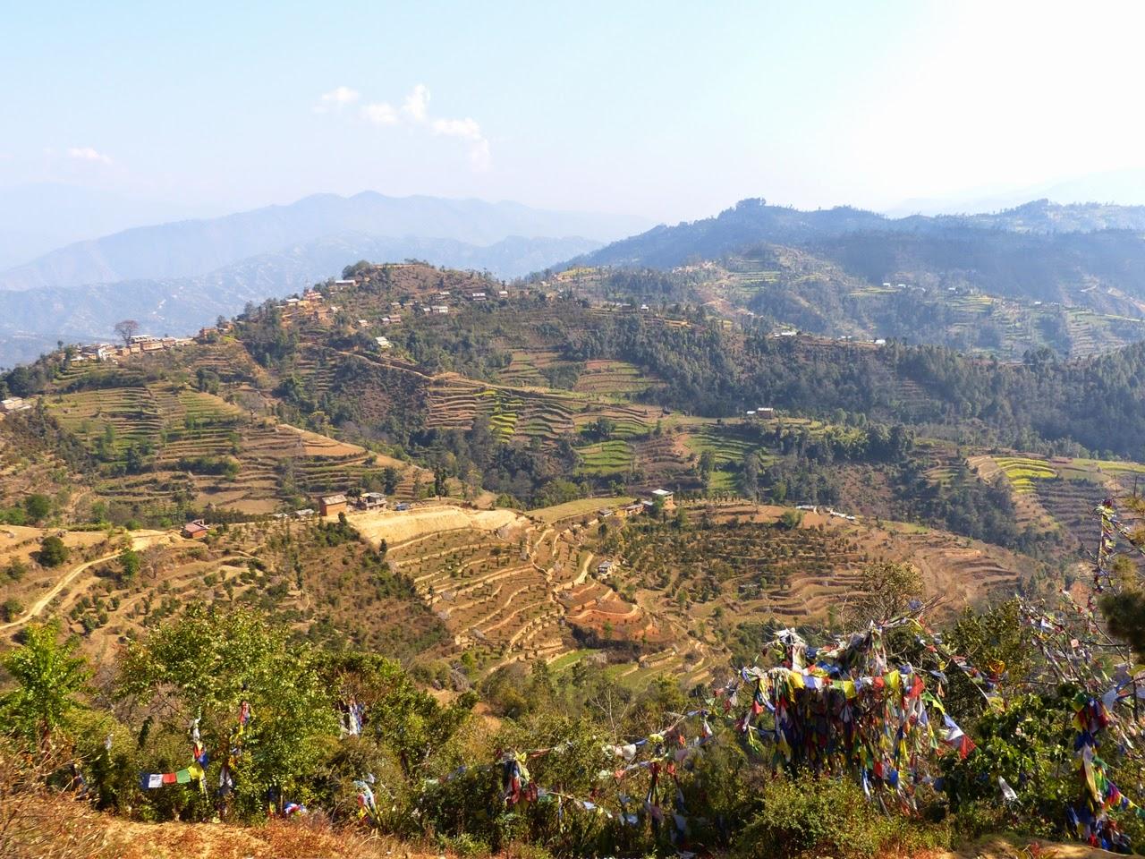 Views from Namobuddha, Nepal