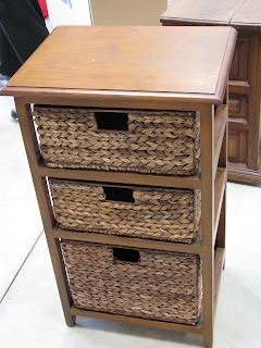 That S Life End Table Basket Drawers