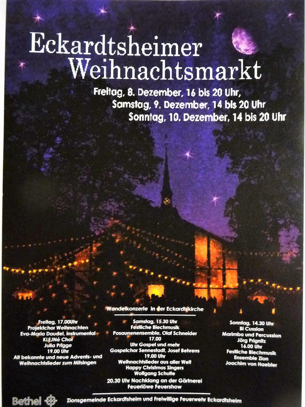 Eckardtsheimer Weihnachtsmarkt