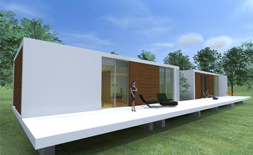 Haby modular house casa modular portugal arq eng mag - Casas modulares portugal ...