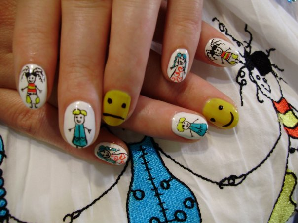 Nail Art For Kids Nail Art Designs 2014 Ideas Images Tutorial Step