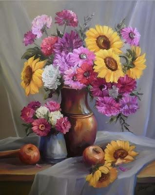 imagenes-de-flores-al-oleo