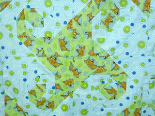 Scooby Doo Virginia Whirl Quilt http://muttnut.blogspot.com/