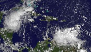 97L (potenziell Tropensturm SEAN) legt wieder zu, Oktober, Sean, 2011, Hurrikansaison 2011, Karibik, aktuell, Venezuela, Curacao, Aruba, Bonaire, Satellitenbild Satellitenbilder,