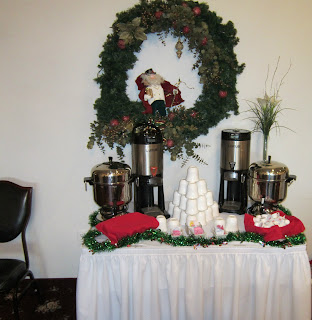 Relevant tea leaf an angel themed christmas tea - Interesting tables capes for christmas providing cozy gathering space ...