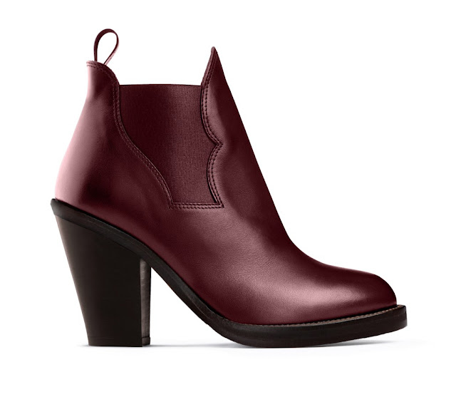 acne star wine red