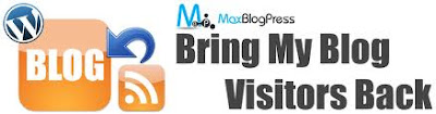 MaxBlogPress Bring My Blog Visitors Back is a powerful WordPress Plugin