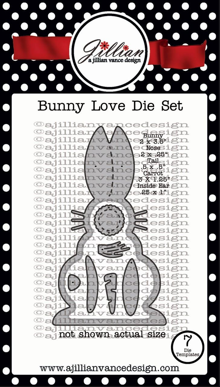 Bunny Love Die Set