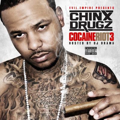 Chinx Drugz - Cocaine Riot 3 [iTunes Mixtape]  Cover