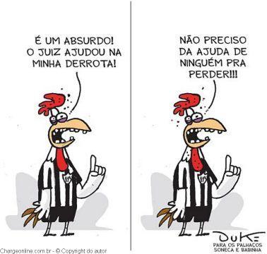 Charge do Galo perdendo novamente para o Botafogo, Galo perdendo, galo sendo goleado