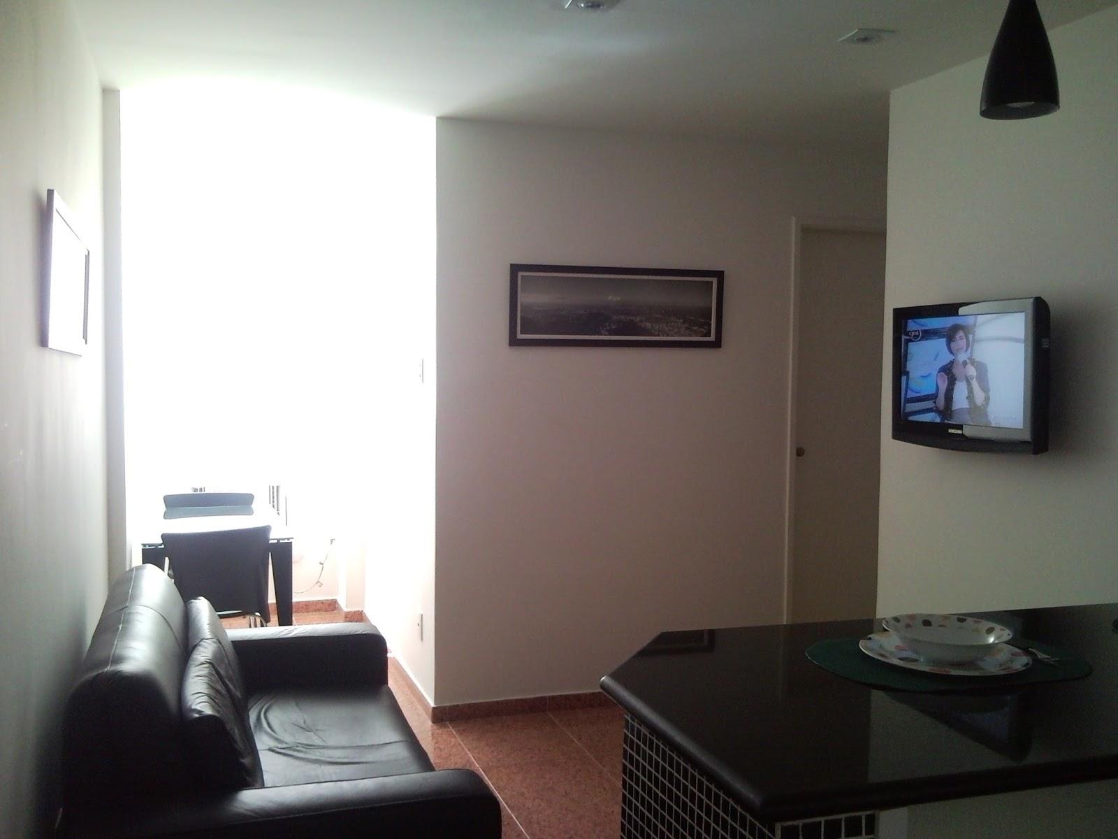 Lindo Apartamento Na Barata Ribeiro Sala Com Sof Cama Cozinha