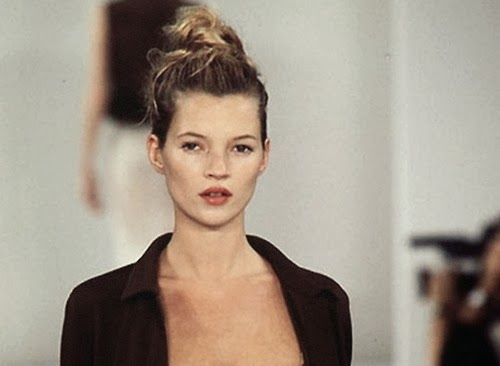 kate moss young runway catwalk