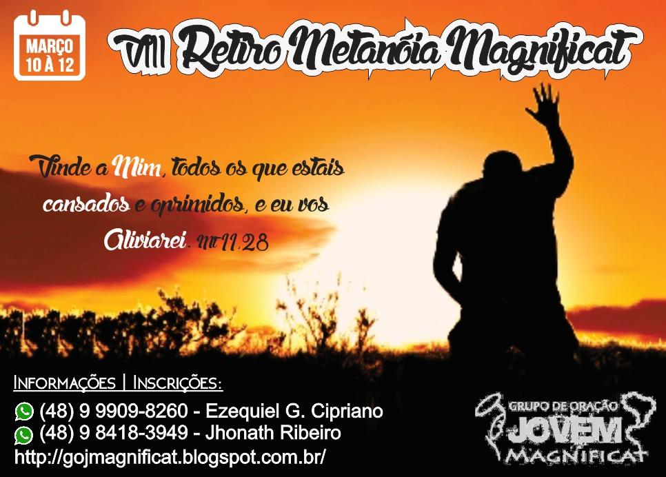 VIII Retiro Metanóia Magnificat