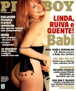 Playboy Babi Setembro 2003