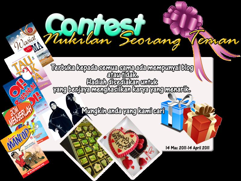 Contest:Nukilan Seorang Teman