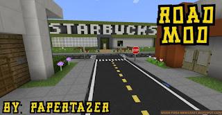 Road Mod para Minecraft 1.8