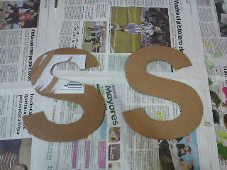 Crea vintage junio 2012 - Como hacer letras decorativas ...