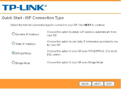 setting router tp link5