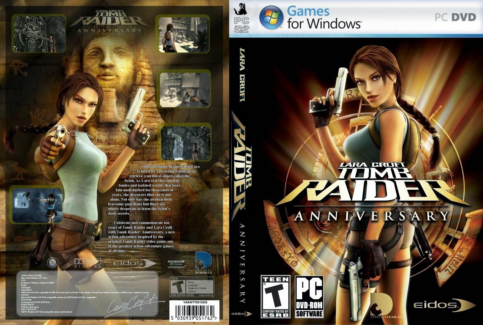 تحميل لعبة Tomb Raider Anniversary برابط واحد وبدون تثبيت