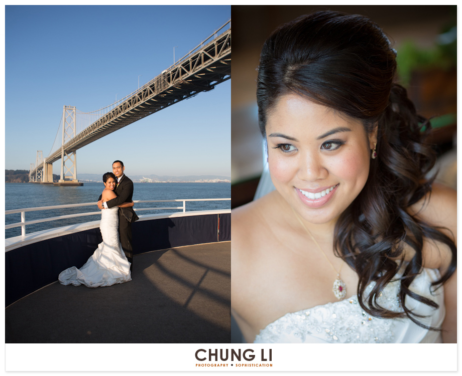 san francisco yacht cruise wedding