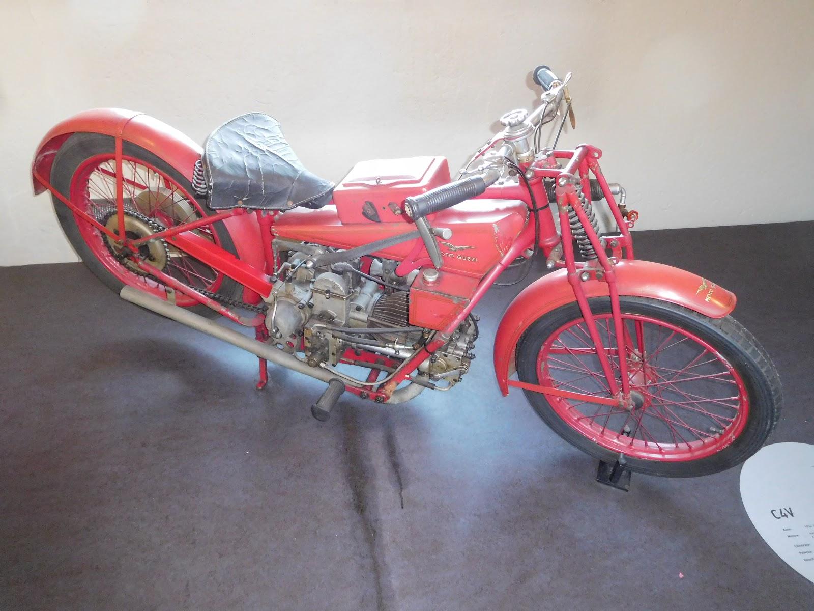 NYDucati: 1924-33 Moto Guzzi CV4