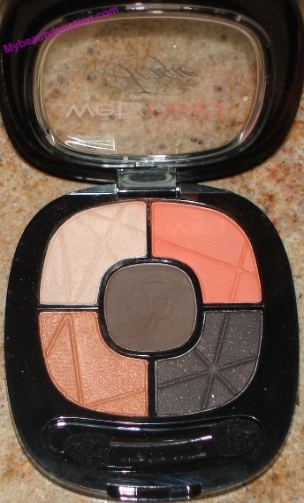 Wet n Wild Fergie Centerstage palette in Desert Festival review, swatches