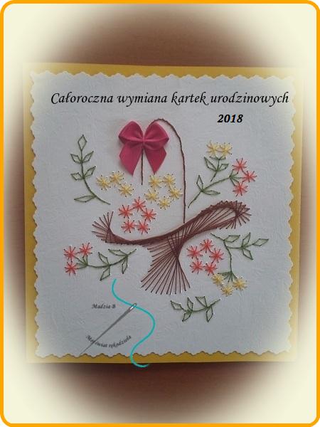 Całoroczna wymianka urodzinowa 2018