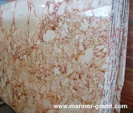 Marmer Cream Terracota Marble Slabs Marble Granite