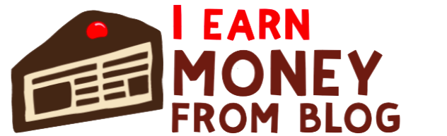 I Earn Money from Blog