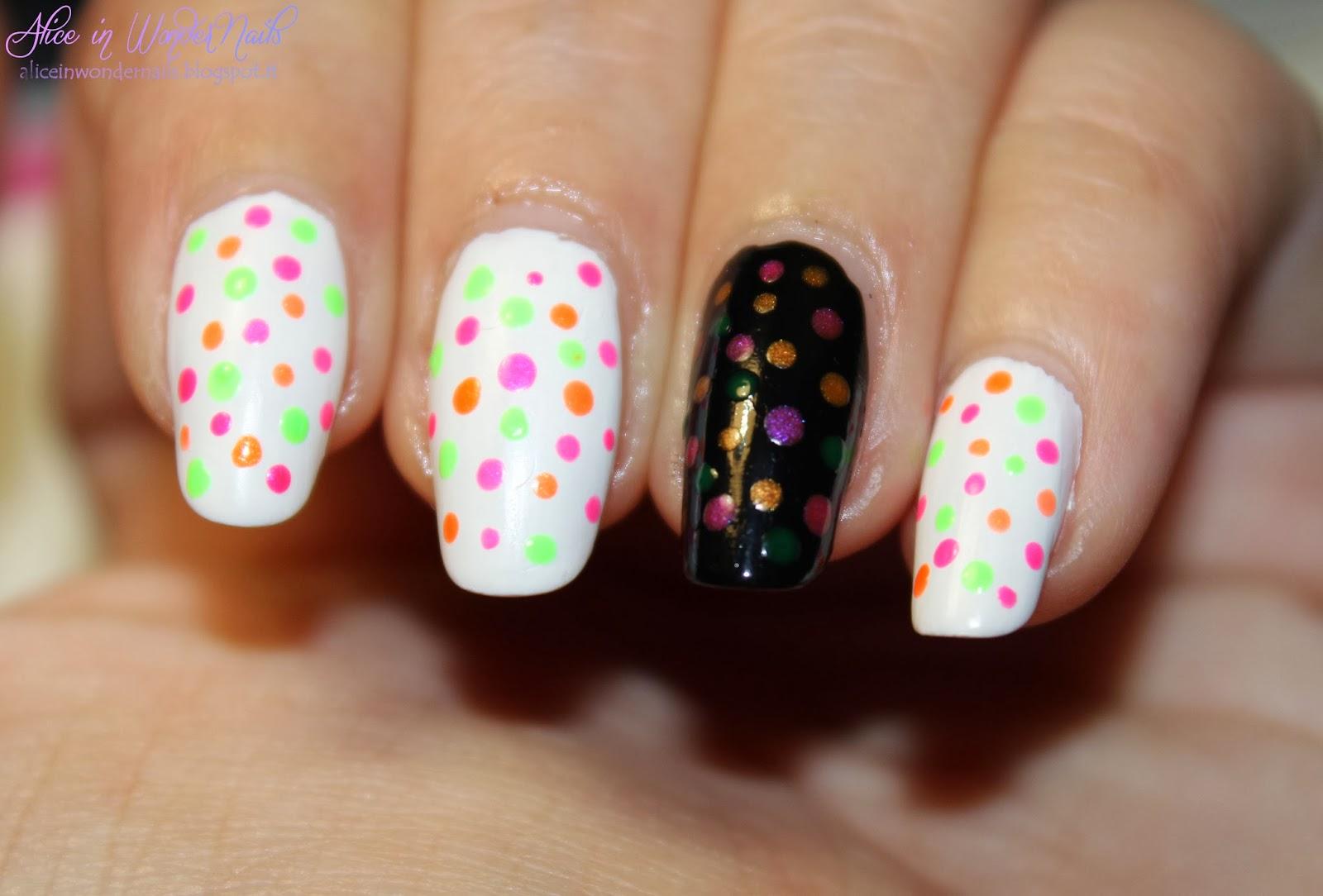 Nail Design With Confetti : Giardino d inverno confetti nail art by alice in wondernails on