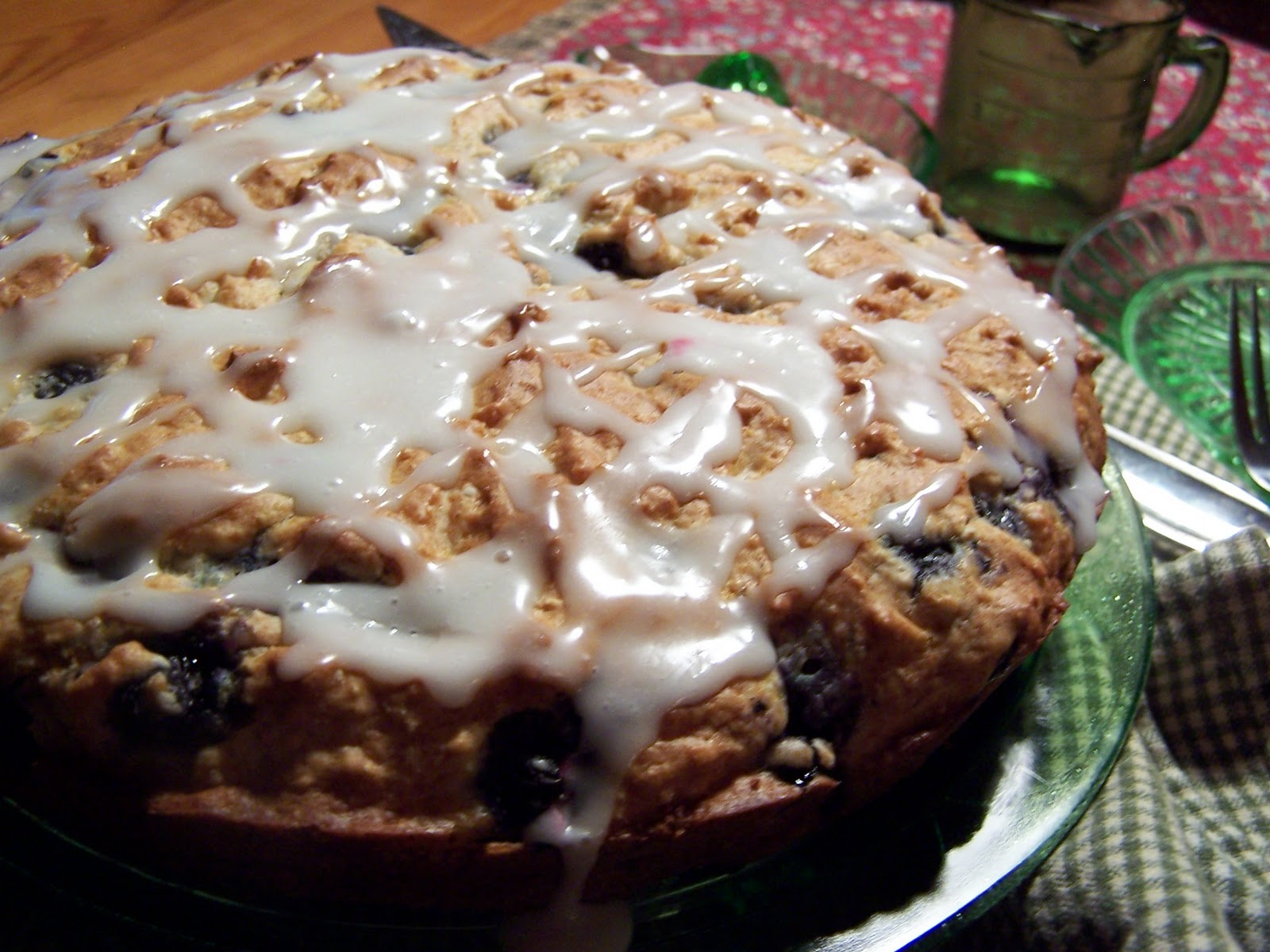 Beatrice Euphemie: Blueberry Lemon Coffee Cake