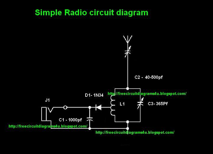 Free circuit diagrams 4u simple radio circit diagram simple circuit diagramwhen i tested this my first time i enjoyed very muchwhen the signals are coming you can here some sounds like ne ne nee nic nee publicscrutiny Image collections