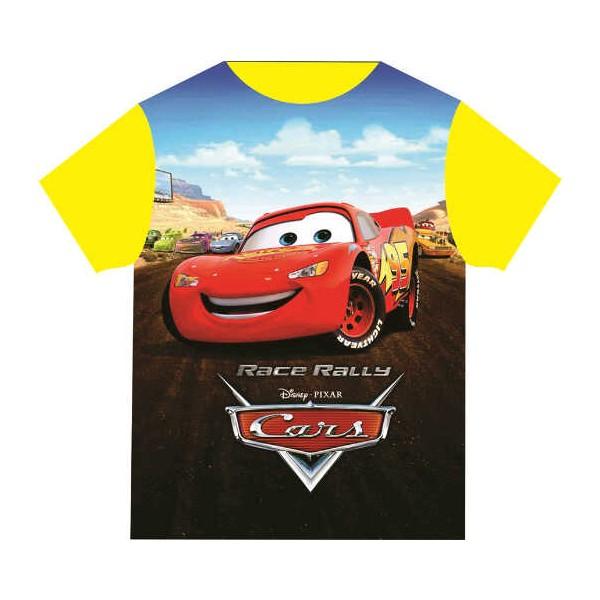 Baju Anak Karakter Cars Race Dream Kids Size 2 - 12 Tahun