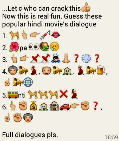 Guess these Popular Hindi Movie's Dialogue