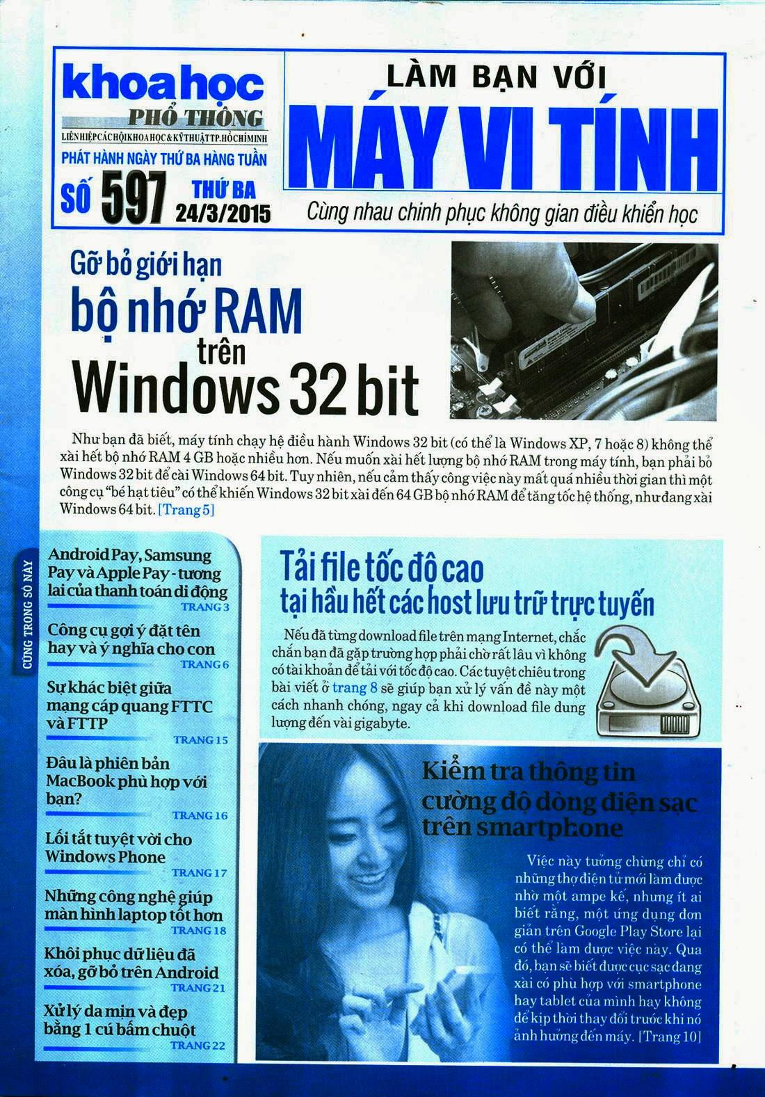 Làm Bạn Với Máy Vi Tính – 597 - tapchicntt.com
