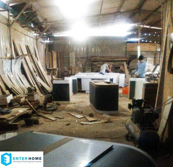 Xưởng sản xuất đồ gỗ nội thất enterhome hình ảnh 3