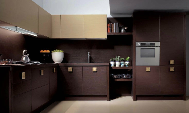 Simply Beautiful Kitchens The Blog Brown And Cream Modular
