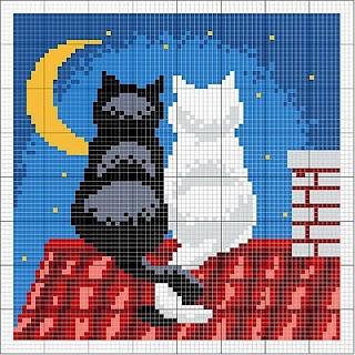 Imagem para bordado de gatinhos