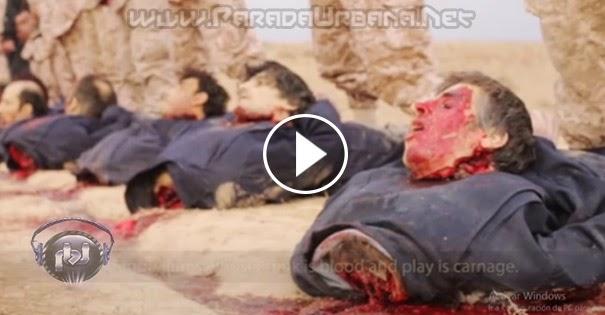 VIDEO IMPACTANTE: El Estado Islámico difunde en video su ejecución más salvaje e impactantes