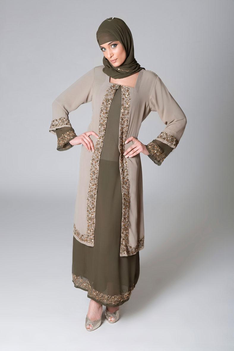Dresses: Abaya styles