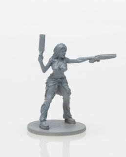 Zombicide Kickstarter Survivor Dakota