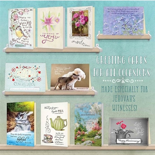 Ministry ideaz theocratic greeting cards for all