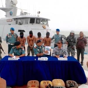 TNI AL Gagalkan Perompakan Kapal di Perairan Kepulauan Riau