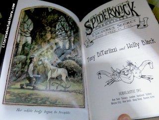 spiderwick lucinda's secret title page