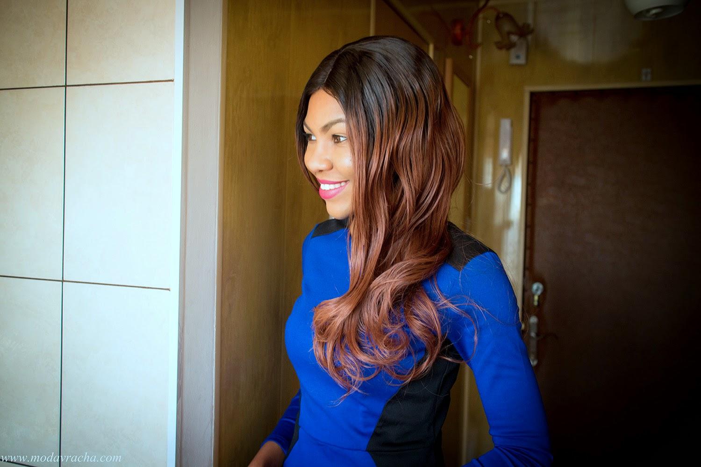 Kim Kardashian Long Wavy Custom Full Lace Human Hair Wig From Evawigs.