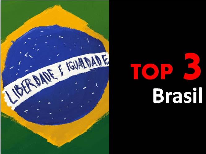 Top 3 - Brasil