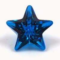 Star Blue CZ Gems