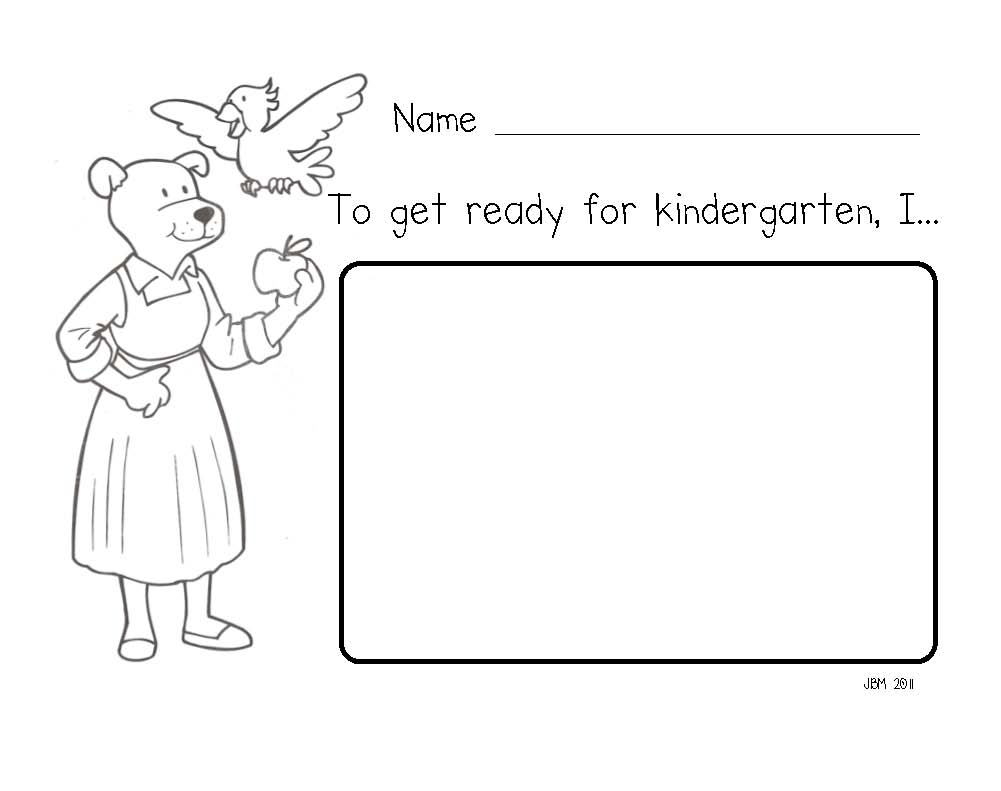 Mrs. Fullmer's Kinders: How Do You Get Ready For Kindergarten?