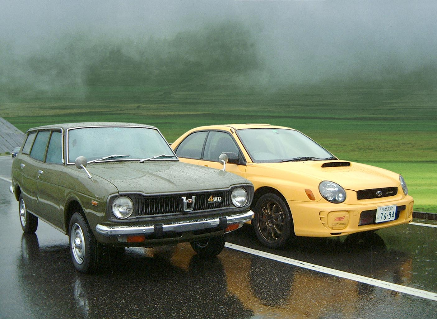Subaru Older Models >> Auto Neurotic Fixation: Old & New Subarus