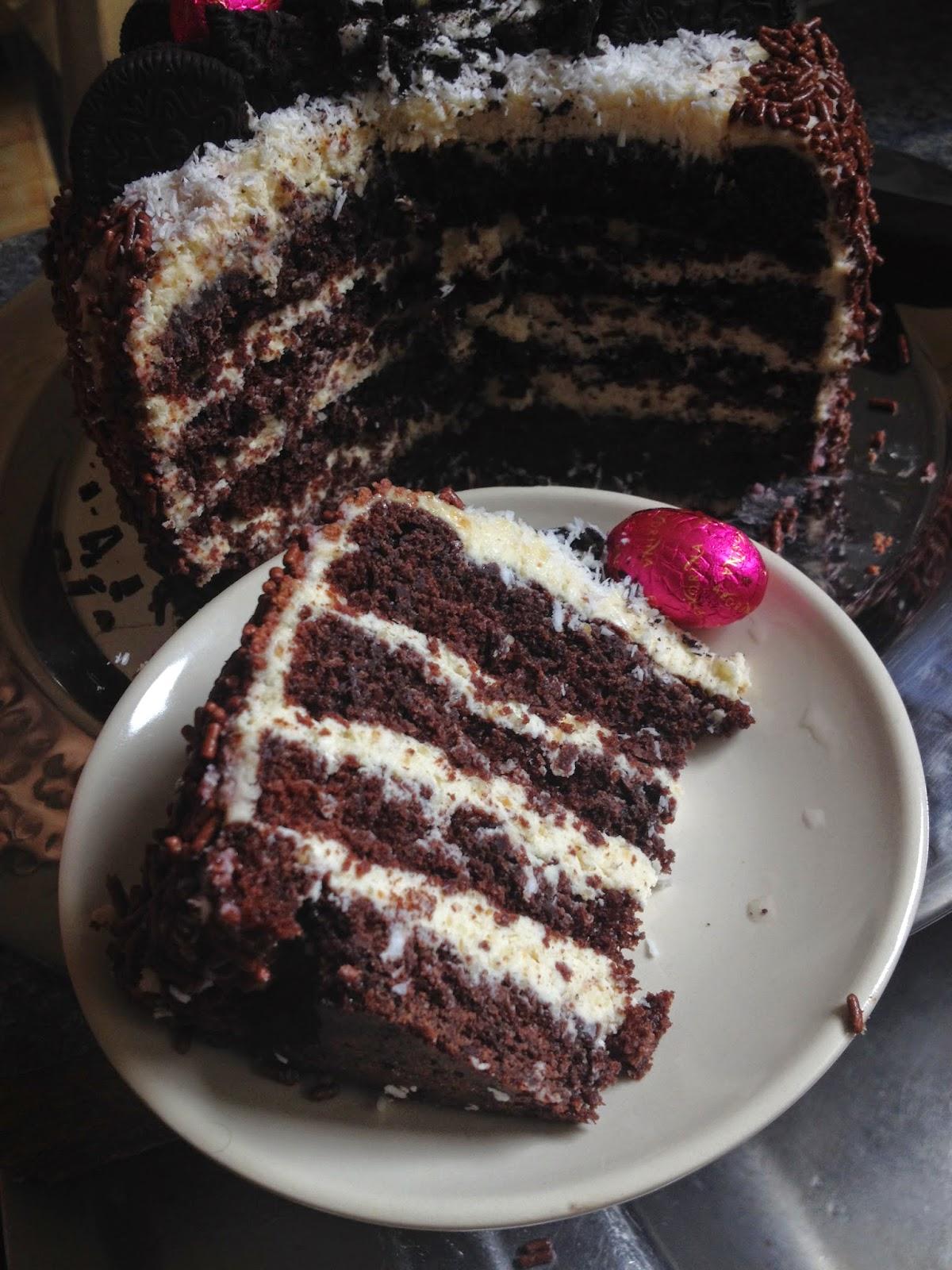 Recette Layer Cake Chocolat Blanc
